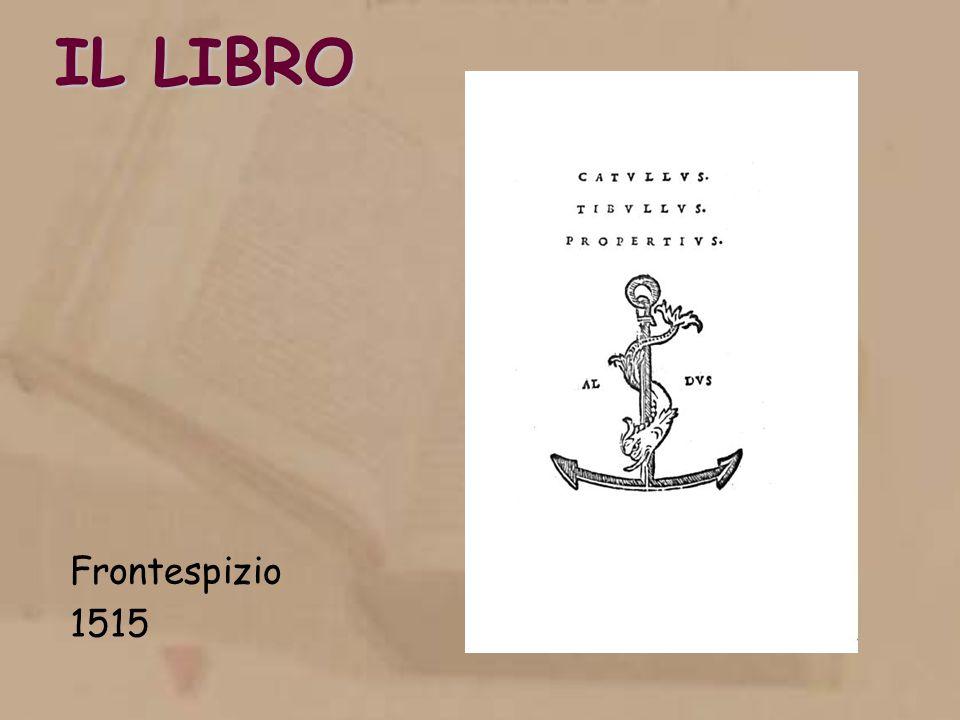 IL LIBRO Frontespizio 1515