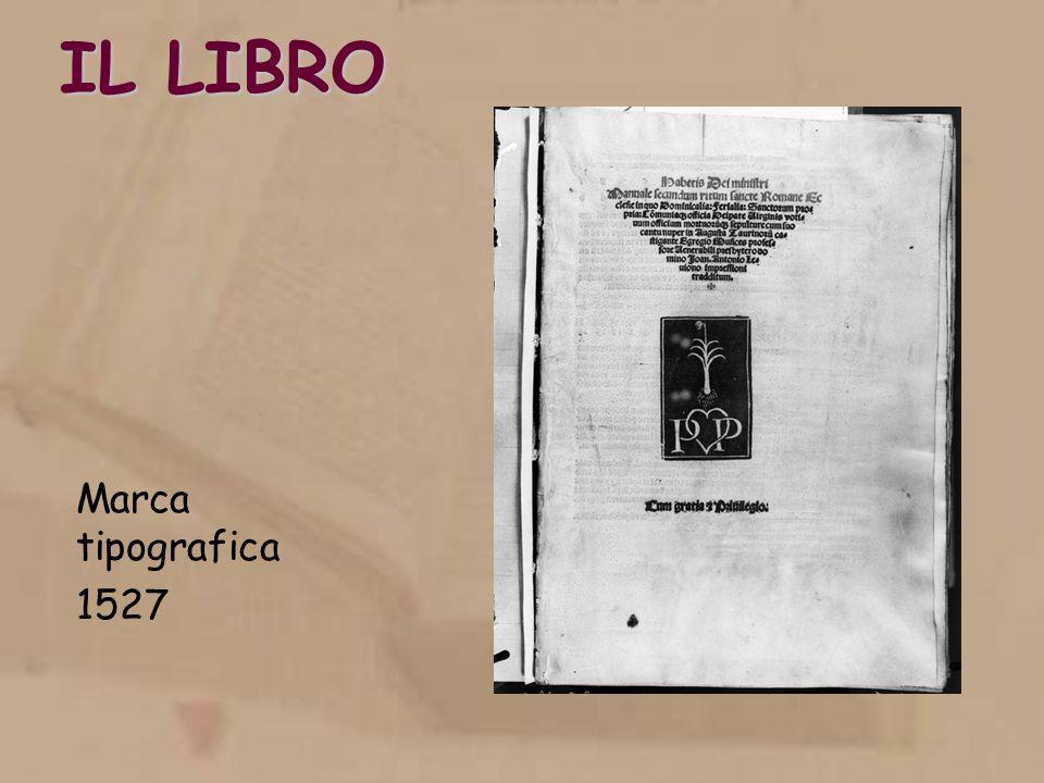 IL LIBRO Marca tipografica 1527