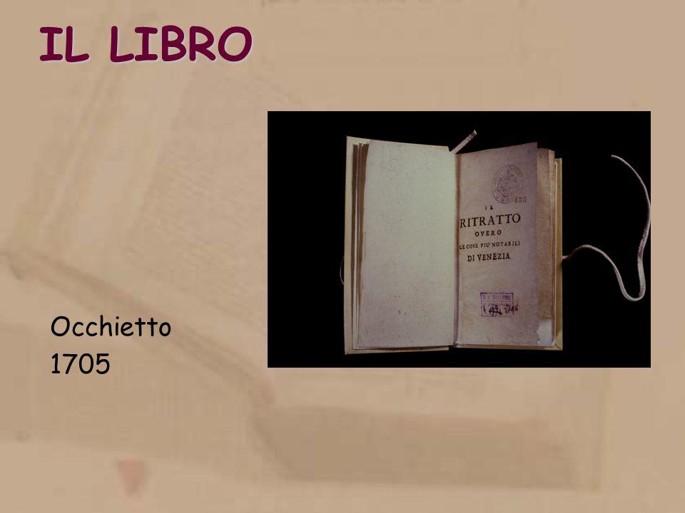 IL LIBRO Occhietto 1705