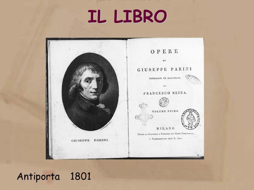 IL LIBRO Antiporta 1801