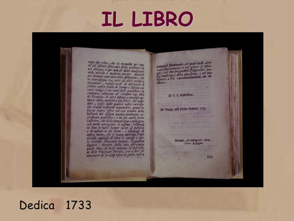 IL LIBRO Dedica 1733