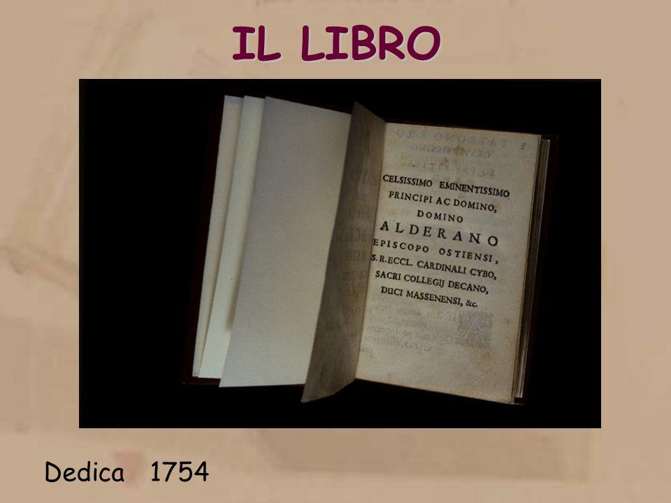 IL LIBRO Dedica 1754