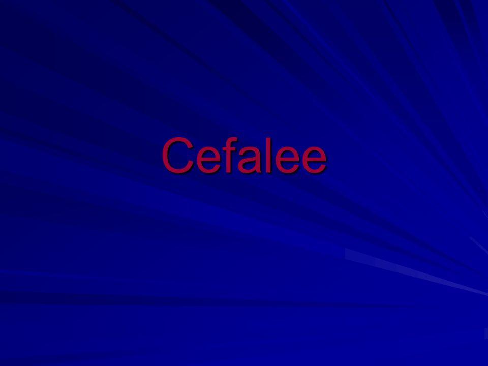 Cefalee