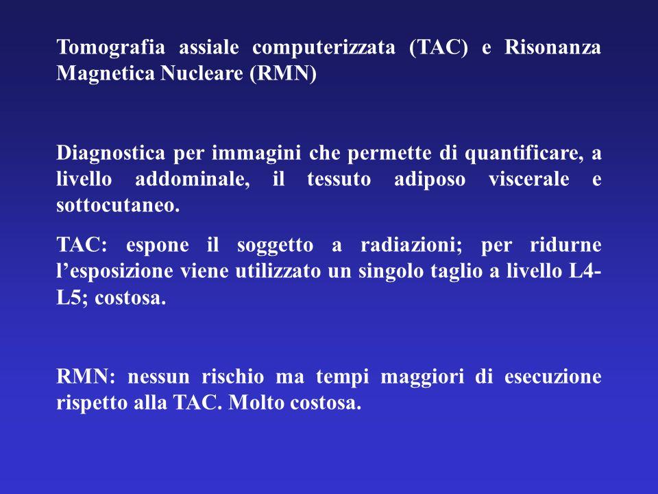 Tomografia assiale computerizzata (TAC) e Risonanza Magnetica Nucleare (RMN)
