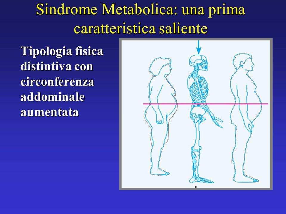 Sindrome Metabolica: una prima caratteristica saliente