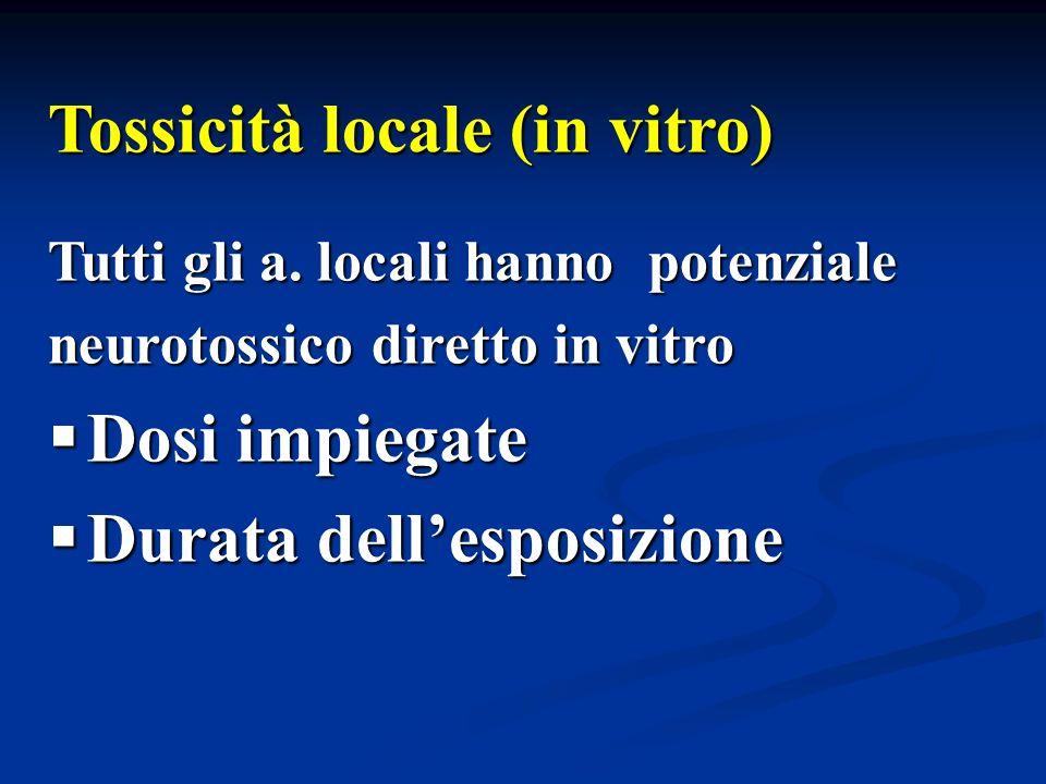 Tossicità locale (in vitro)