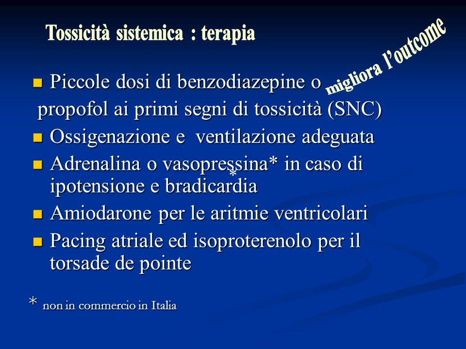 Tossicità sistemica : terapia