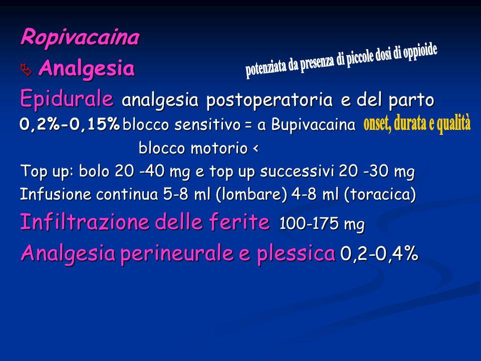 potenziata da presenza di piccole dosi di oppioide