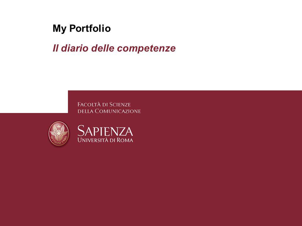 My Portfolio Il diario delle competenze