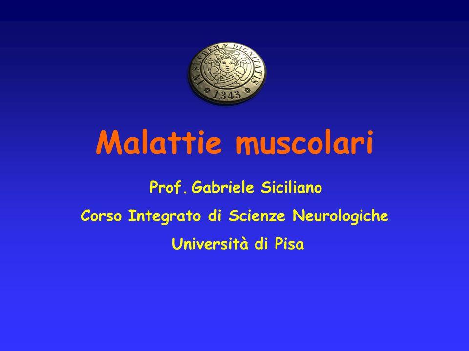 Corso Integrato di Scienze Neurologiche