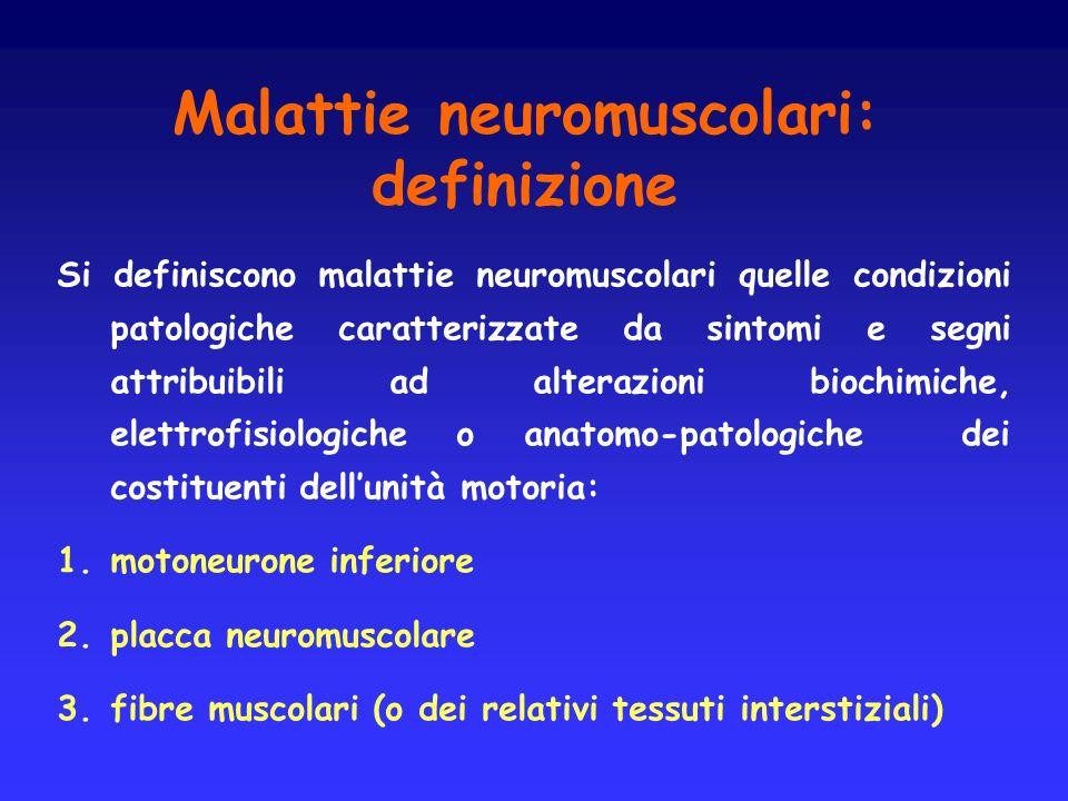 Malattie neuromuscolari: definizione