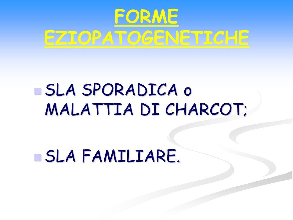 FORME EZIOPATOGENETICHE