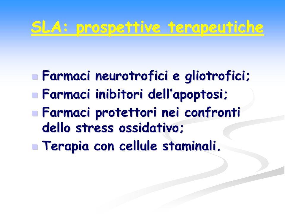 SLA: prospettive terapeutiche