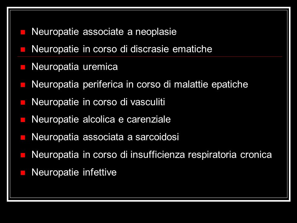 Neuropatie associate a neoplasie