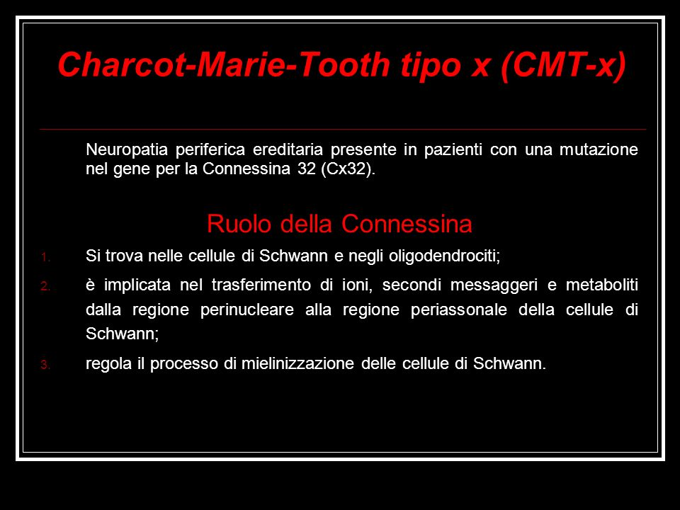 Charcot-Marie-Tooth tipo x (CMT-x)