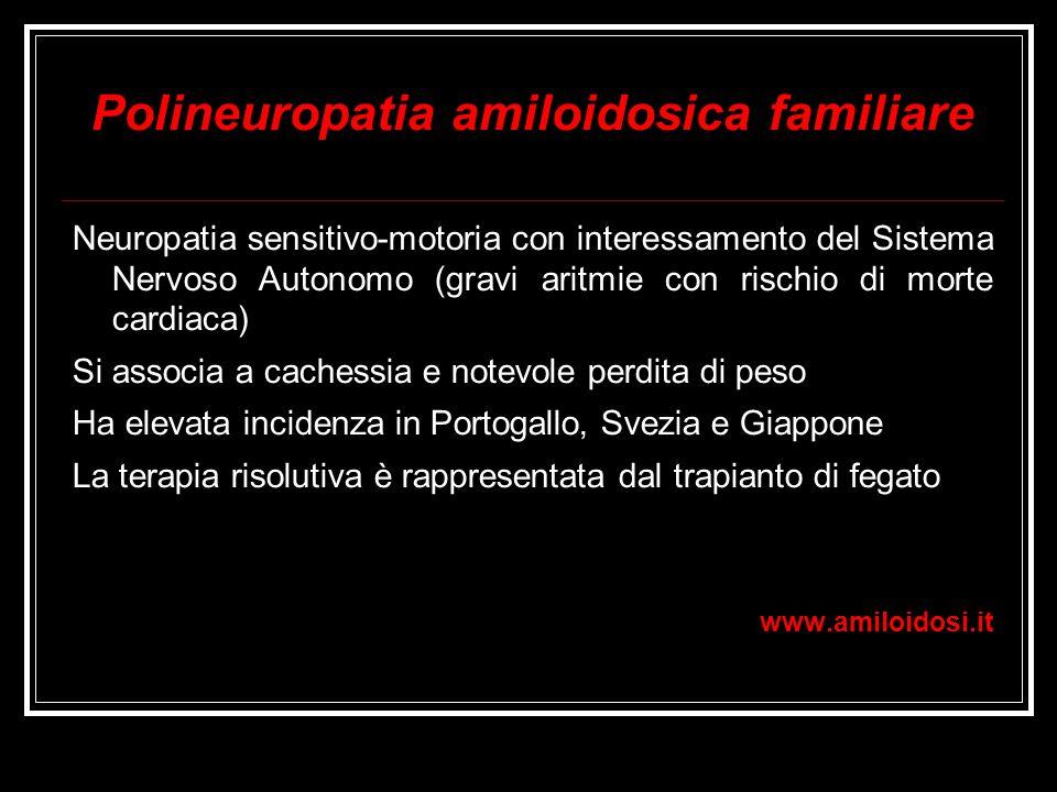 Polineuropatia amiloidosica familiare