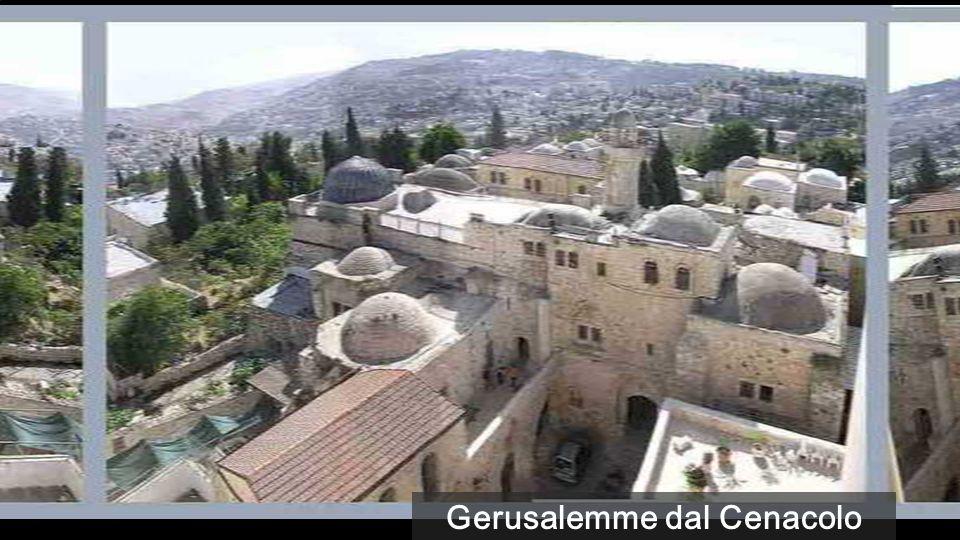 Gerusalemme dal Cenacolo