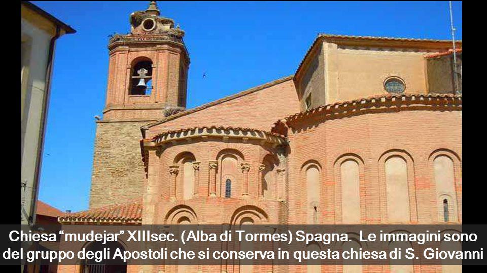 Chiesa mudejar XIIIsec. (Alba di Tormes) Spagna