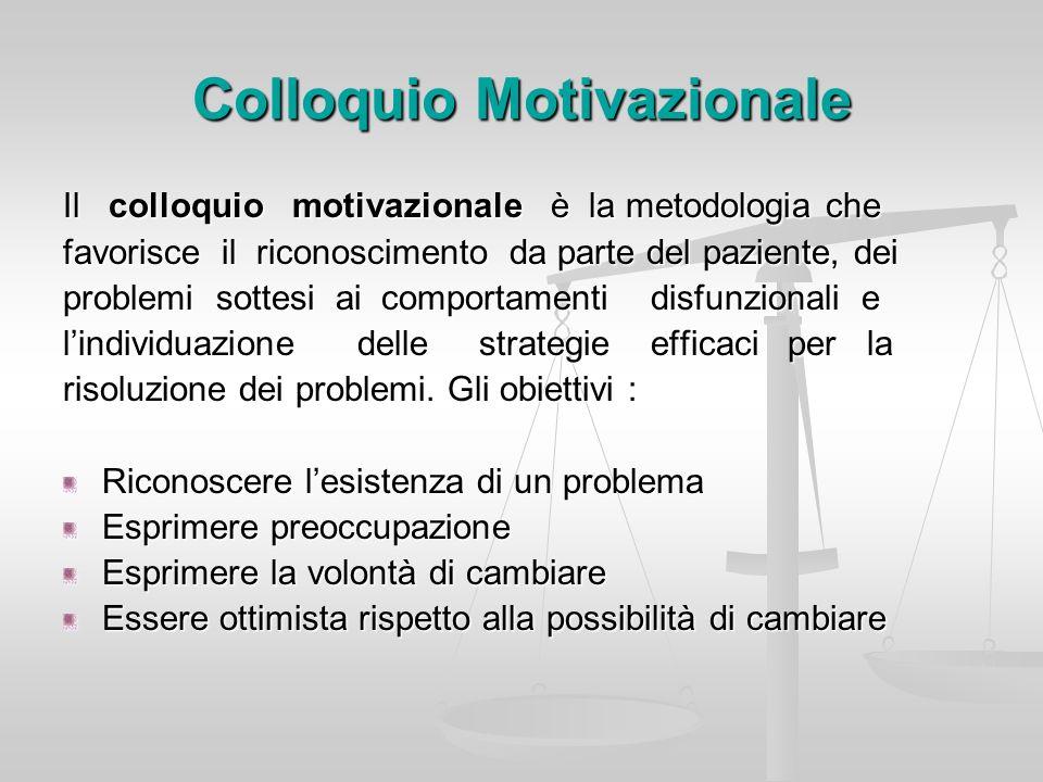 Colloquio Motivazionale