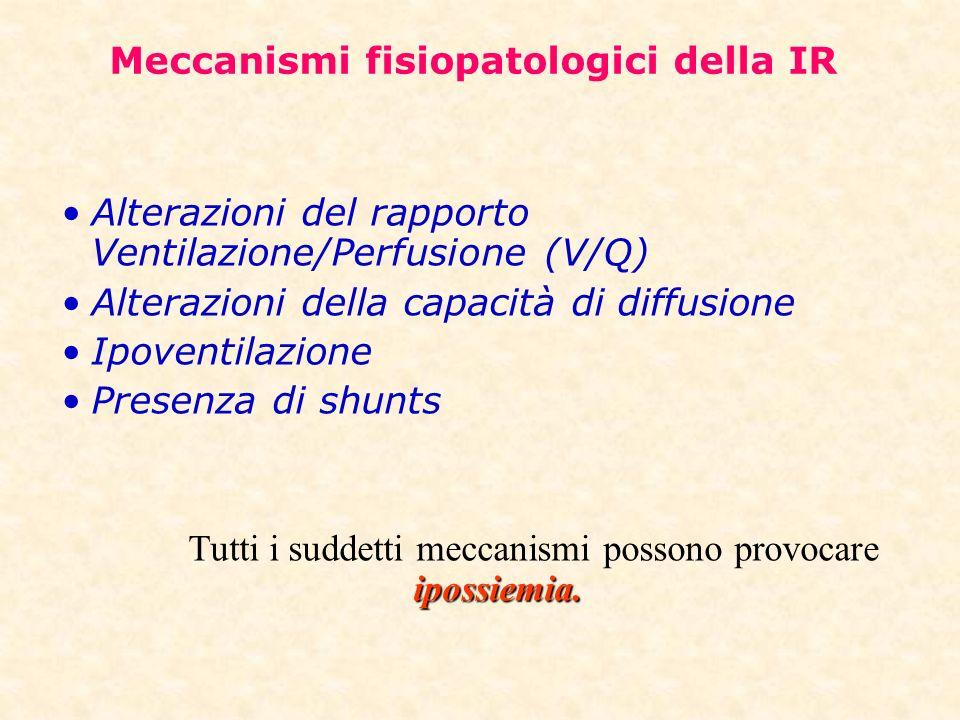 Meccanismi fisiopatologici della IR