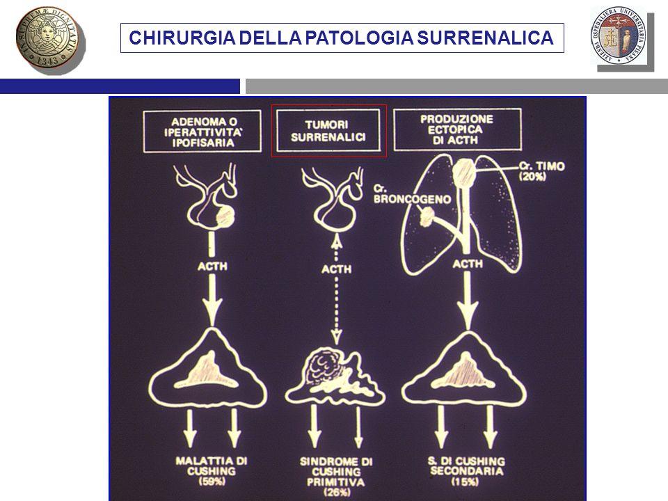 CHIRURGIA DELLA PATOLOGIA SURRENALICA