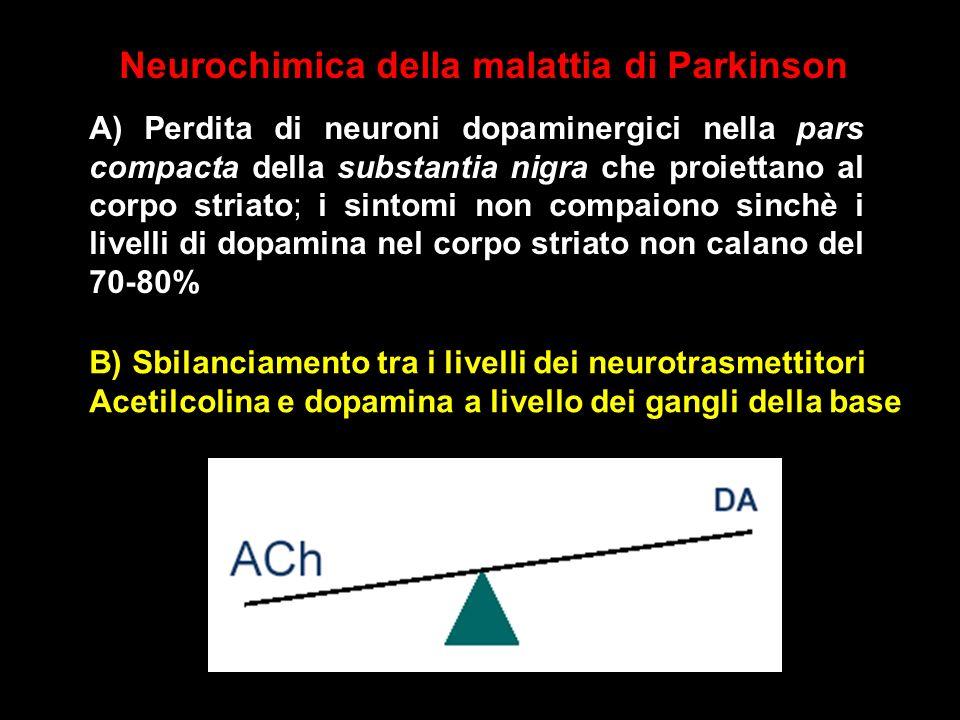 Neurochimica della malattia di Parkinson