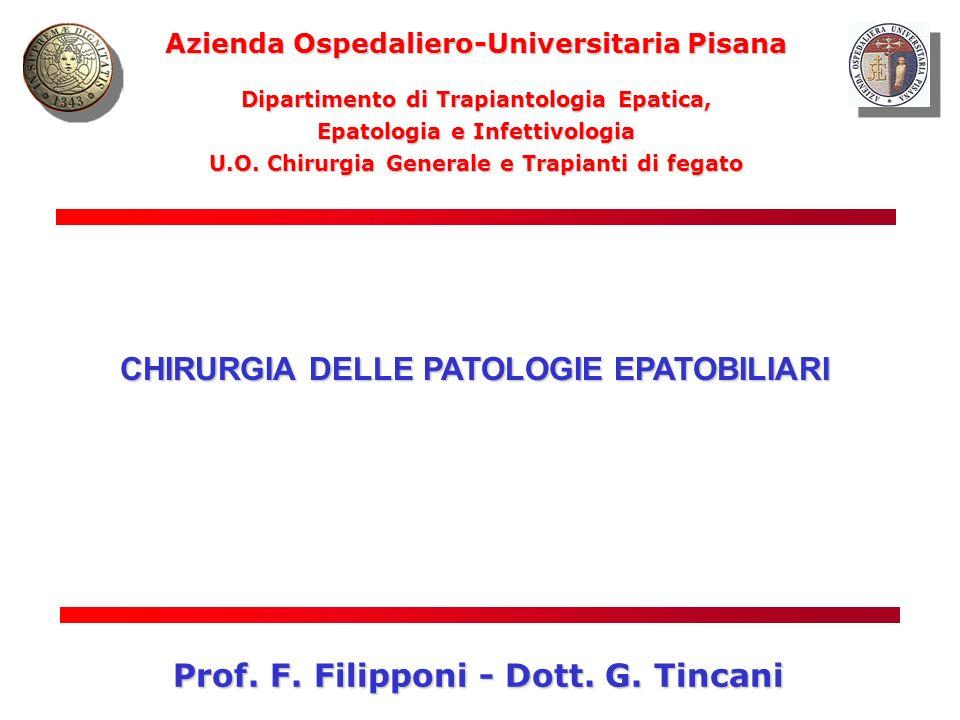 Prof. F. Filipponi - Dott. G. Tincani