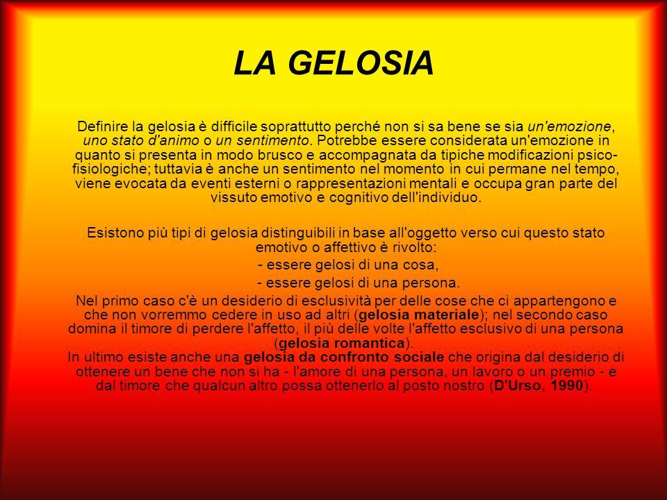 LA GELOSIA