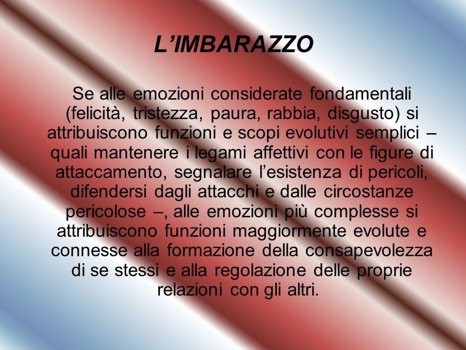 L'IMBARAZZO