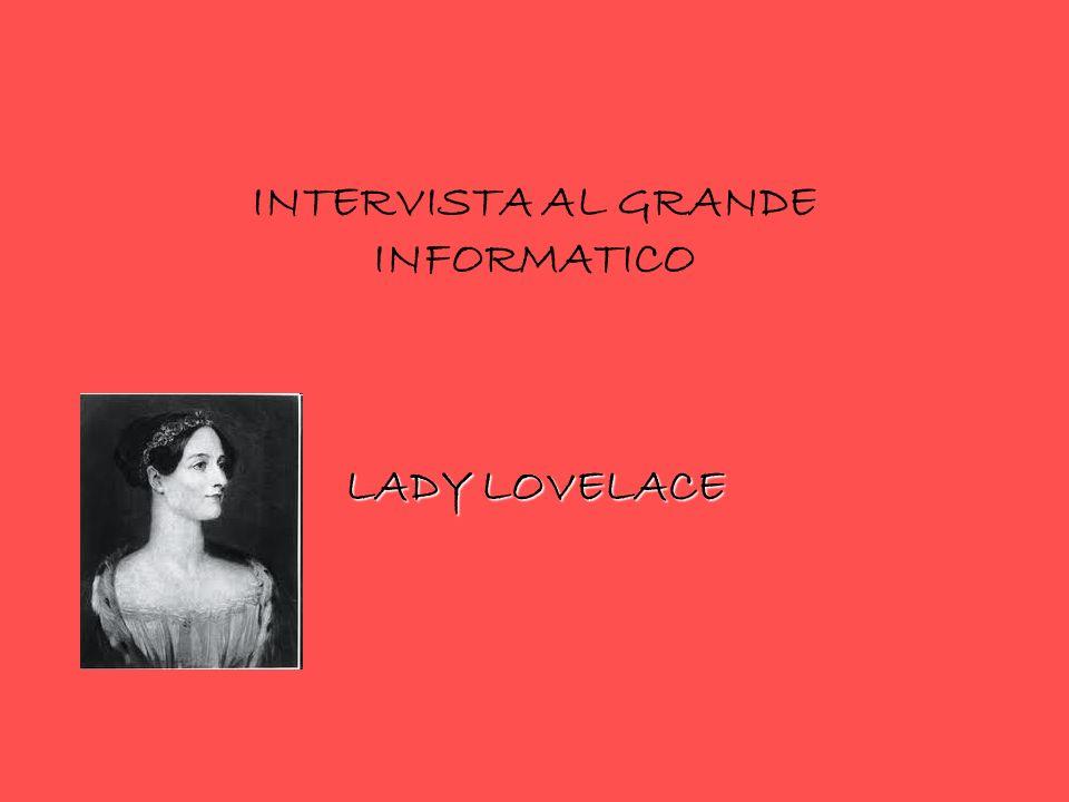 INTERVISTA AL GRANDE INFORMATICO