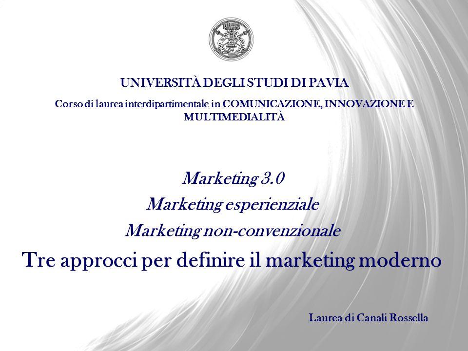 Tre approcci per definire il marketing moderno