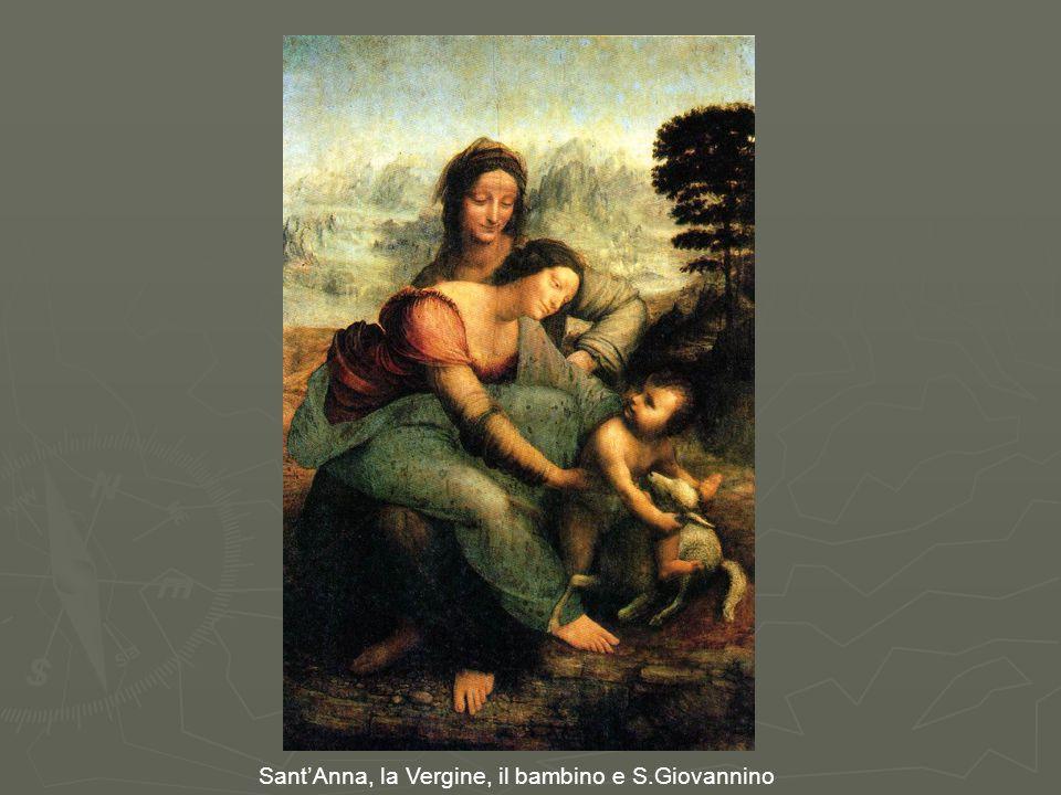 Sant'Anna, la Vergine, il bambino e S.Giovannino