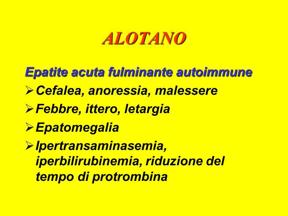ALOTANO Epatite acuta fulminante autoimmune
