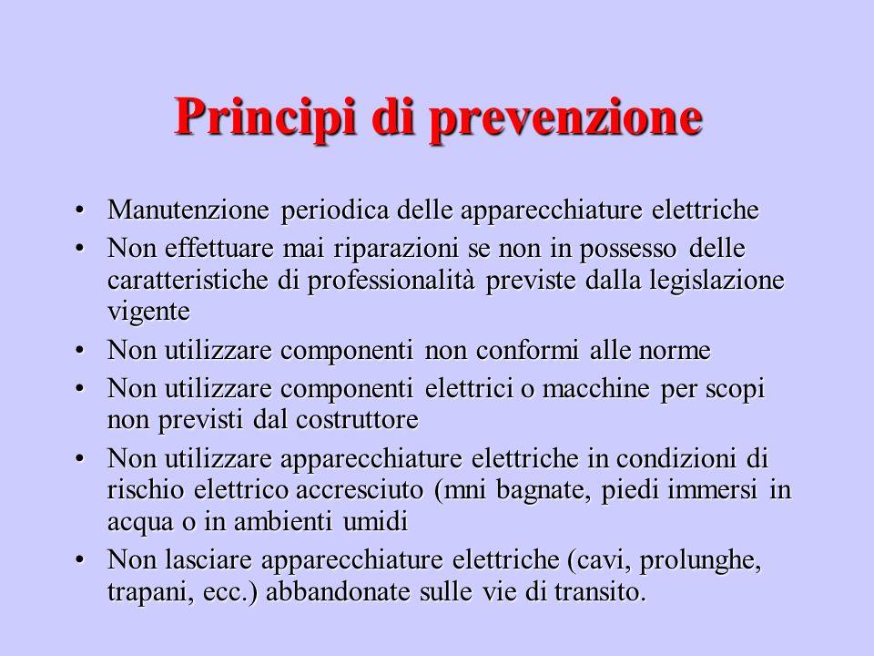 Principi di prevenzione