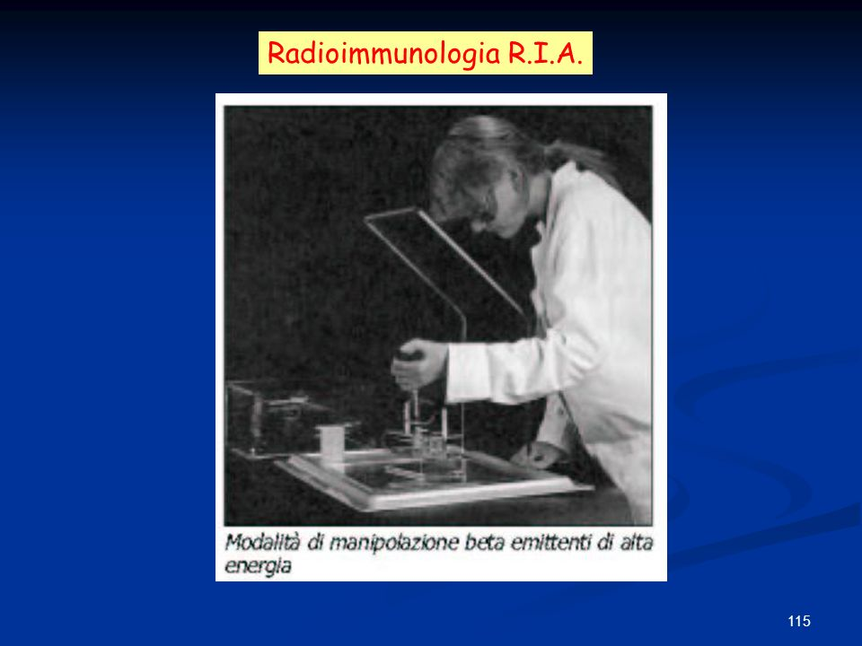 Radioimmunologia R.I.A.
