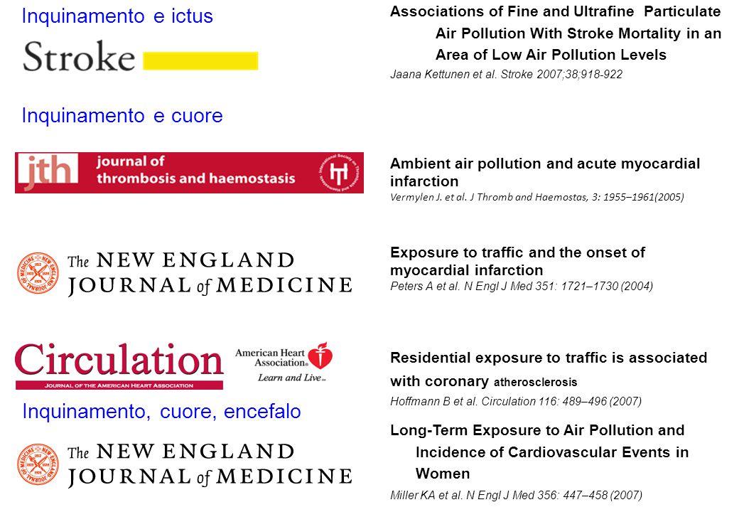 Inquinamento, cuore, encefalo