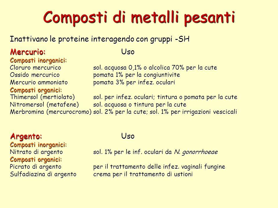 Composti di metalli pesanti