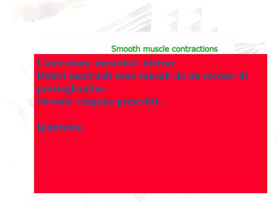 Contrazioni muscolari uterine