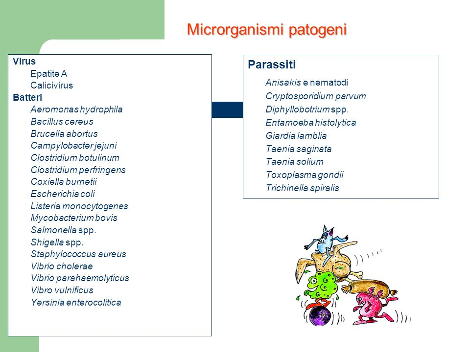 Microrganismi patogeni