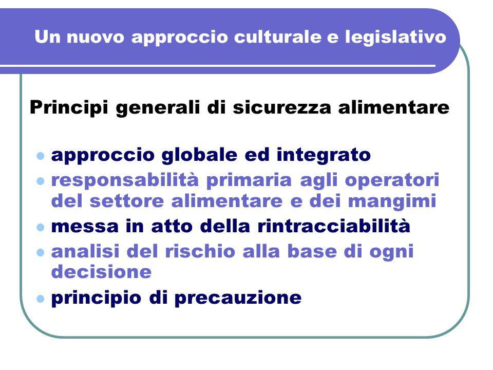 Un nuovo approccio culturale e legislativo