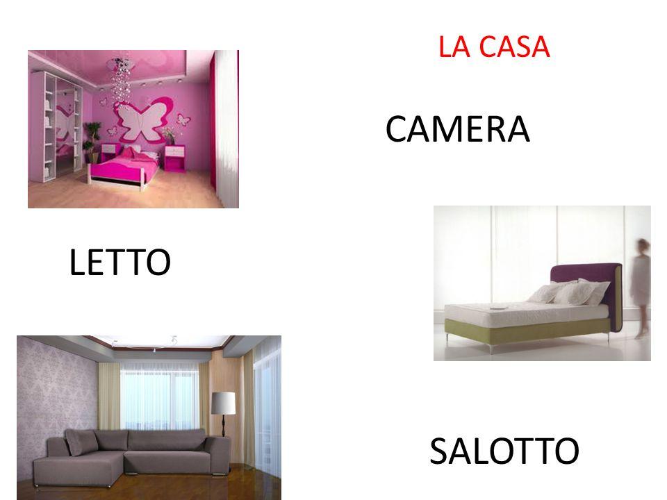 LA CASA CAMERA LETTO SALOTTO