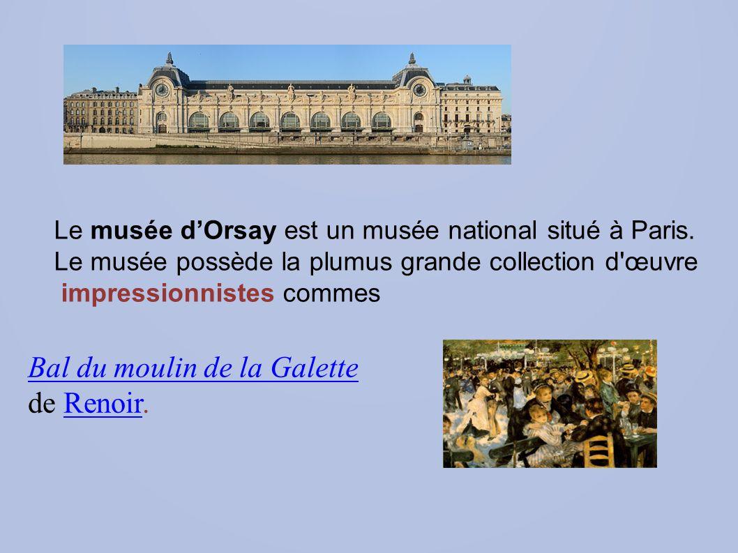 Bal du moulin de la Galette de Renoir.