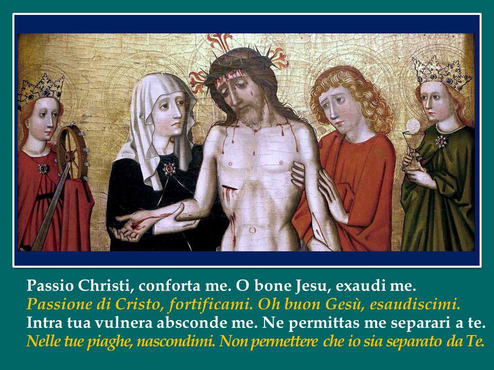 Passio Christi, conforta me. O bone Jesu, exaudi me