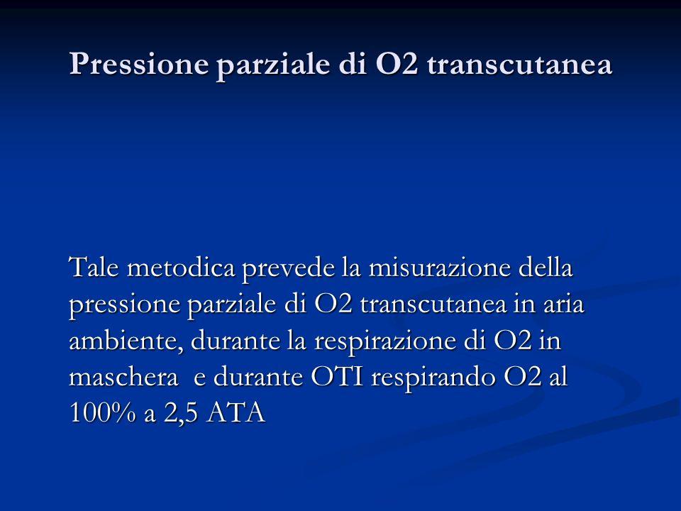 Pressione parziale di O2 transcutanea