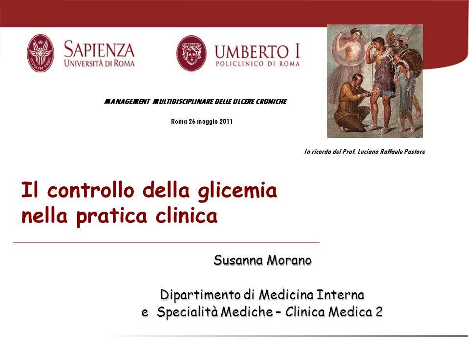 Il controllo della glicemia nella pratica clinica