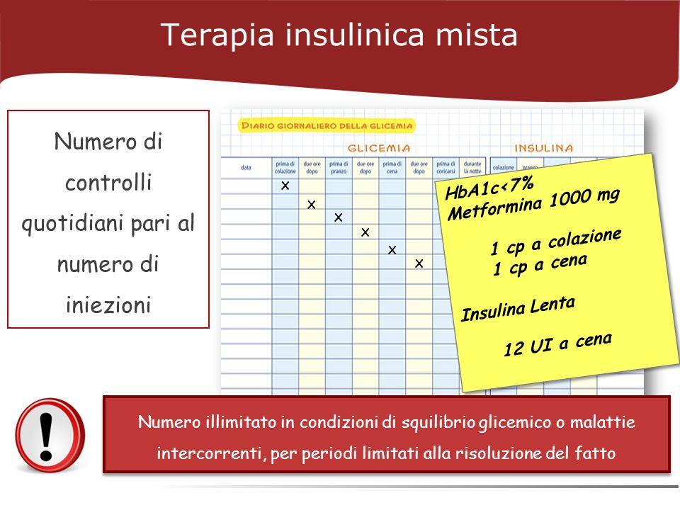 Terapia insulinica mista