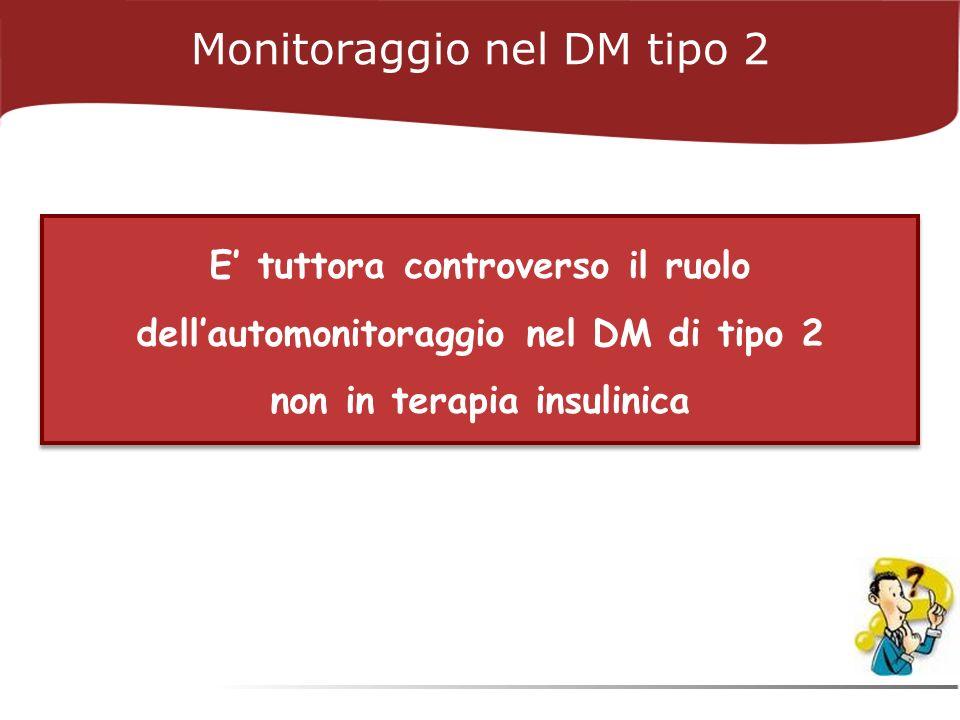 Monitoraggio nel DM tipo 2