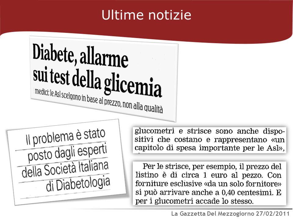 Ultime notizie La Gazzetta Del Mezzogiorno 27/02/2011
