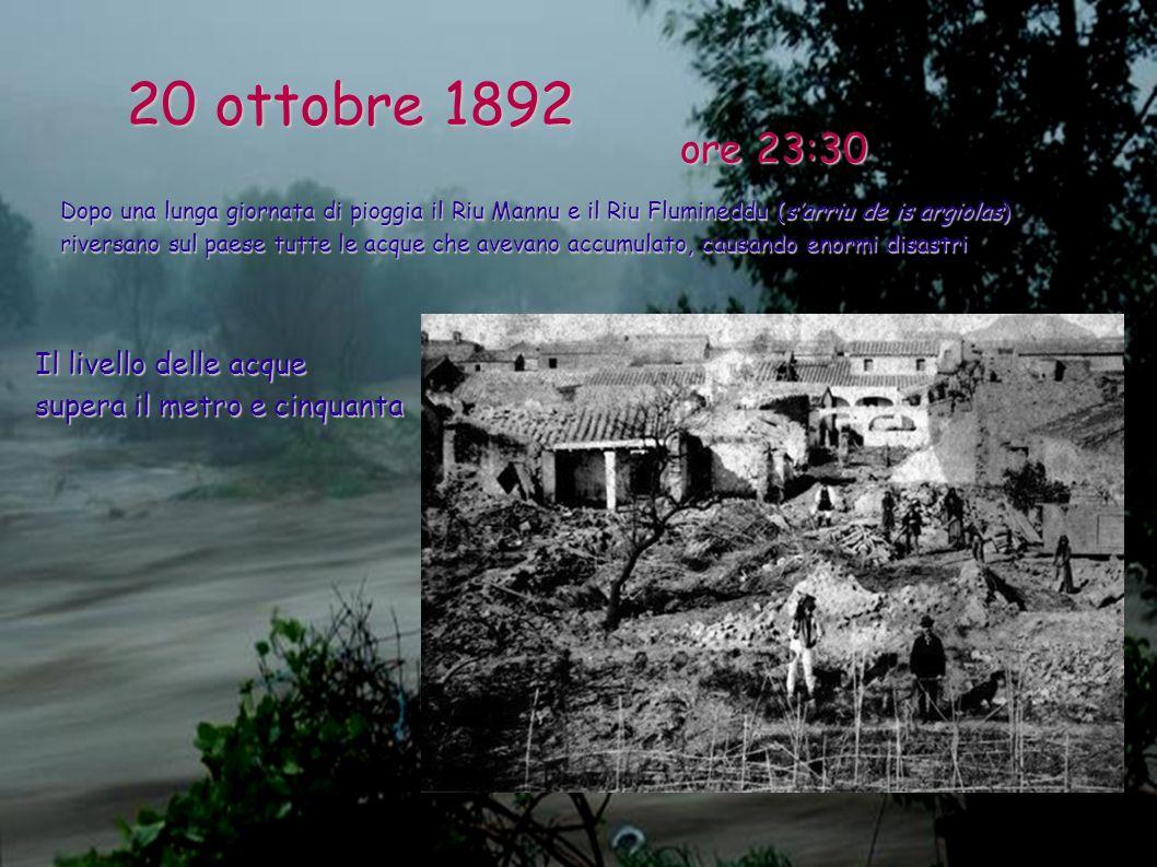 20 ottobre 1892 ore 23:30.