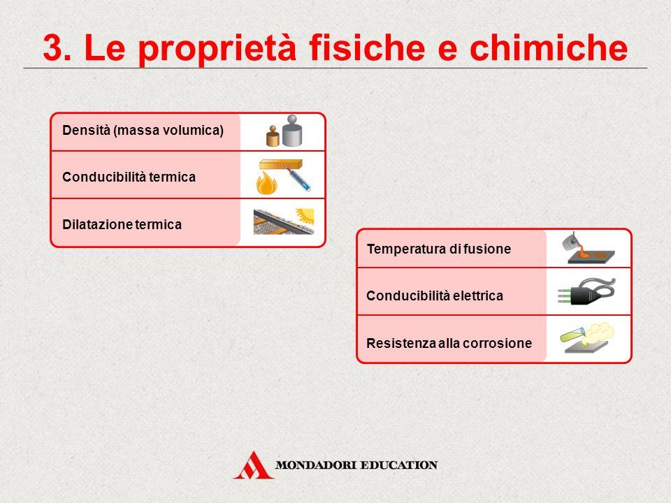 3. Le proprietà fisiche e chimiche